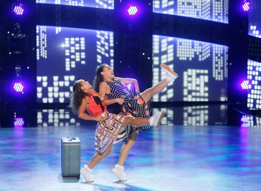 "SO YOU THINK YOU CAN DANCE: Top 6 contestants Ruby Castro (R) and Tahani Anderson (L) perform a Broadway routine to ""Stand By Me"" choreographed by Al Blackstone on SO YOU THINK YOU CAN DANCE airing Monday, August 22 (8:00-10:00 PM ET live/PT tape-delayed) on FOX. ©2016 FOX Broadcasting Co. Cr: Adam Rose"