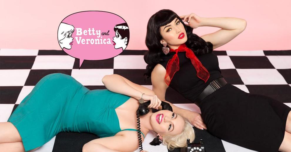 Betty and Veronica/Pinup Girl Clothing