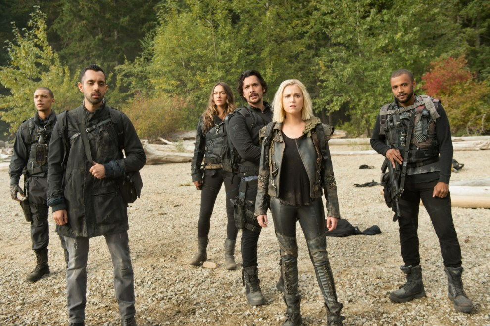 Jordan Bolger as Shaw, Sachin Sahel as Jackson, Tasya Teles as Echo, Bob Morley as Bellamy, Eliza Taylor as Clarke and Jarod Joseph as Miller