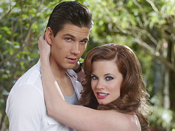 Casey Deidrick and Molly Burnett