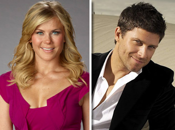Alison Sweeney and Greg Vaughan