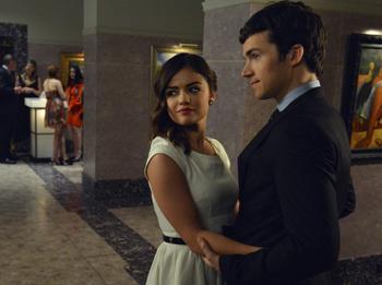 Aria stumbles onto answers about Ezra's past