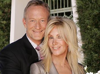 Ted Shackelford and Joan Van Ark