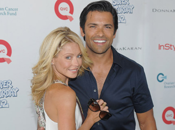 Kelly Ripa and Mark Consuelos Return For AMC's 40th Anniversary