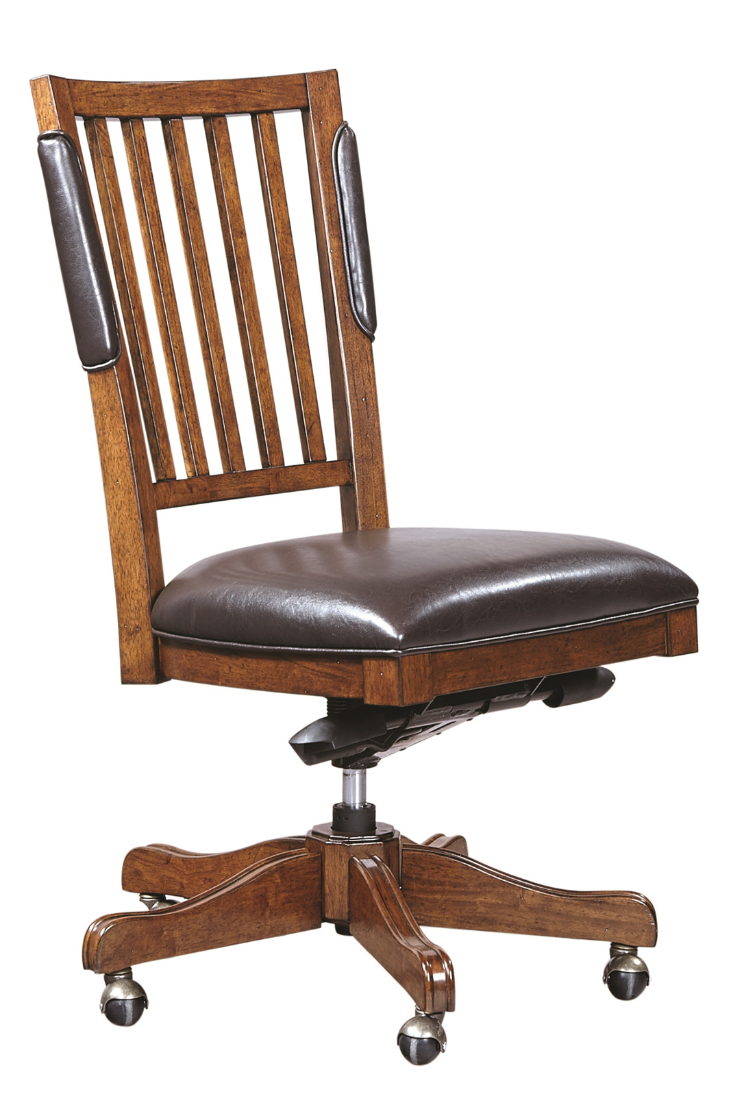 Cherry Chairs Aspenhome Hawthorne Executive Office Chair In Brown Cherry