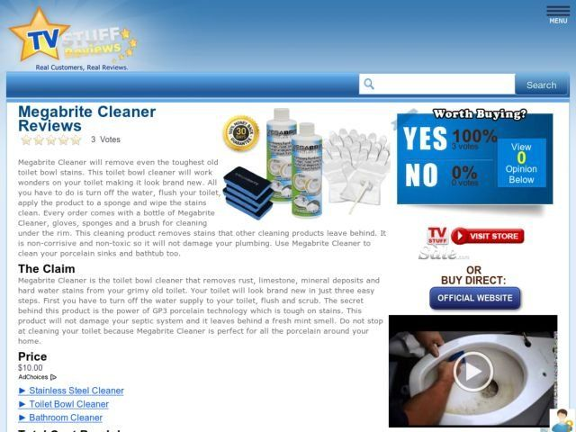 Megabrite Cleaner Reviews Too Good To Be True