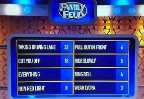 TEN apologises for Family Feud cyclist question – TV Tonight