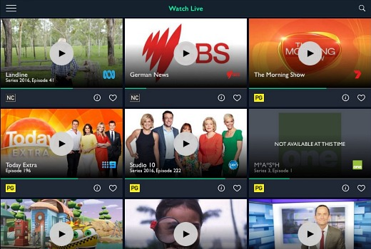 FreeviewPlus app launches with Live streaming – TV Tonight