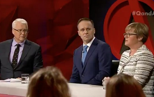 Q a debates privatising the abc tv tonight for The living room channel 10 tonight