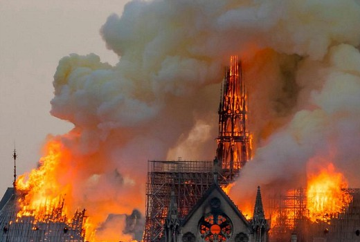 Breakfast TV viewers switch to Notre Dame fire