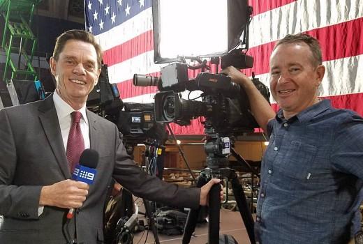 Richard Moran Appointed Nine News US Bureau Chief