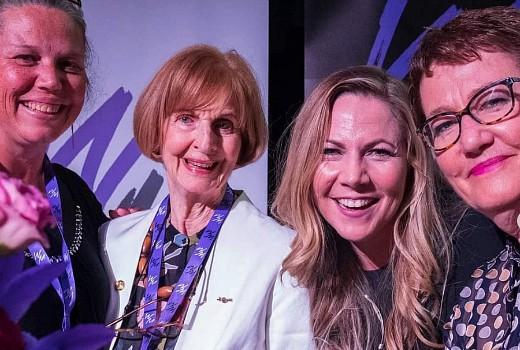 Gold honour for Caroline Jones