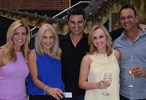 Caty Price, Lisa Fernandez, Tod Johnston, Lee Steele and Kim Bridge - presenter line up missing Anna Gare
