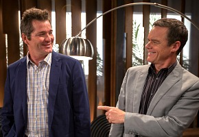 Darius Perkins and Stefan Dennis