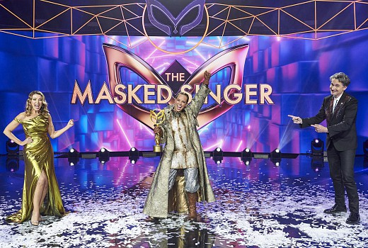 Masked Singer finishes on high