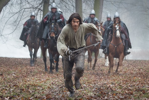 Picture shows: D?Artagnan (LUKE PASQUALINO)