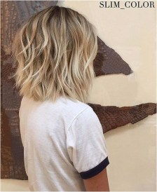 1 messy layered short hairstyle source lovethishair.com