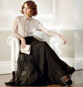 Classic perfect victorian look