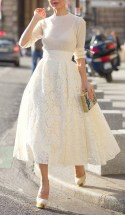 Ladylike dress skirt