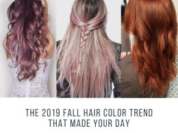 The 2019 fall hair color trend that made your day