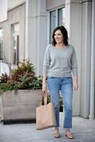 Transition your wardrobe from winter to spring with cropped jeans