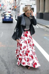 How to look casual chic in maxi skirts