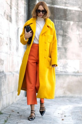 Paris fashion week end street style furry accents and cool denim fashionista