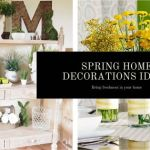Spring for home decorations ideas (2)