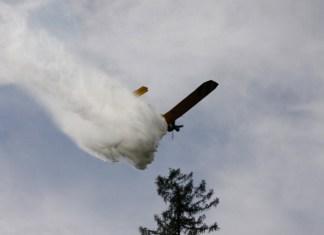 samolot gaśniczy