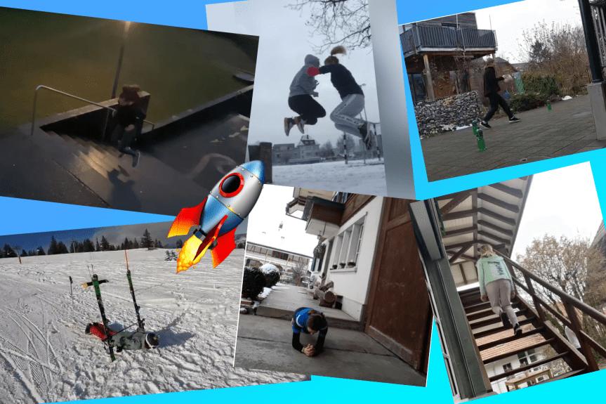 Korbball Jugend: Video-Challenge 2021