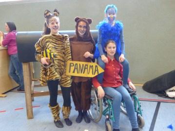 Fiona und Lili, Jasmin und Denise