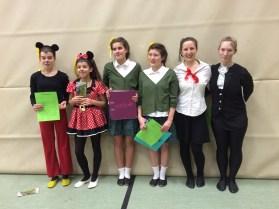 Denise und Chiara, Nele und Lucy, Lili und Fiona