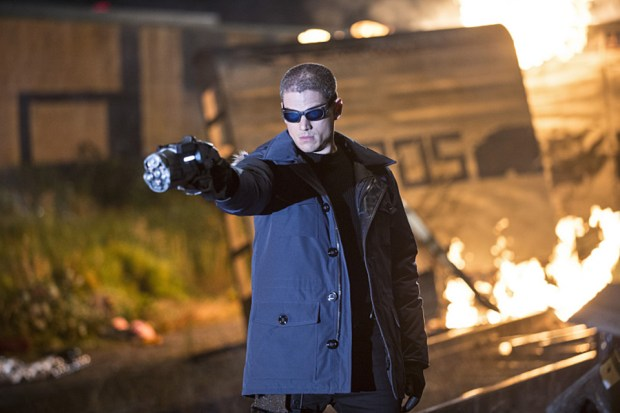 "The Flash -- ""Going Rogue"" Pictured: Wentworth Miller as Leonard Snart -- Photo: Cate Cameron/The CW"