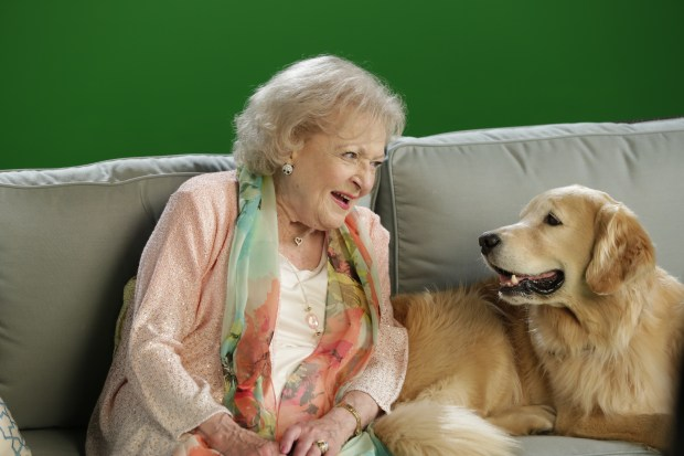 5 - Betty White, Host of Discovery Family Channel's PAWGUST