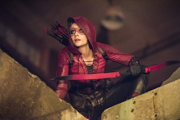 """Arrow -- """"Green Arrow"""" -- Image AR401B_0070b -- Pictured: Willa Holland as Speedy -- Photo: Dean Buscher /The CW -- © 2015 The CW Network, LLC. All Rights Reserved."""