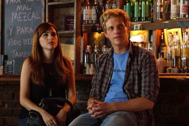 "YOU'RE THE WORST -- ""LCD Soundsystem"" -- Episode 209 (Airs Wednesday, November 4, 10:30 pm e/p) Pictured: (l-r) Aya Cash as Gretchen, Chris Geere as Jimmy. CR: Byron Cohen/FX"
