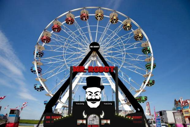 Mr Robot Ferris Wheel Rendering2