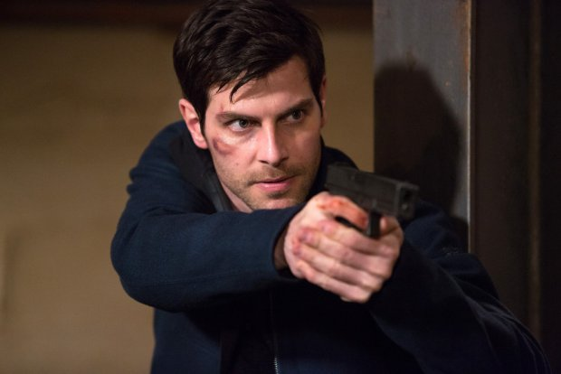 """GRIMM -- """"The Beginning of the End"""" Episode 522 -- Pictured: David Giuntoli as Nick Burkhardt -- (Photo by: Scott Green/NBC)"""