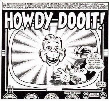 Mad Howdy Doody b and w
