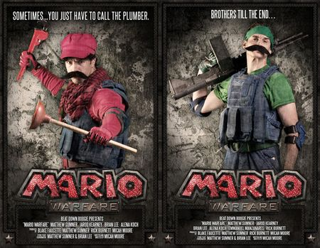 Super Mario Brothers meets Blackhawk Down