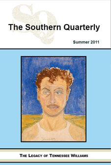 Southern Quarterly Tennessee Williams cover