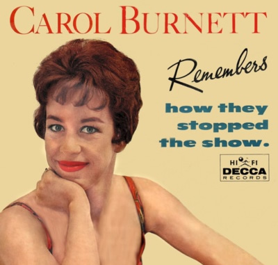 Carol Burnett LP Cover