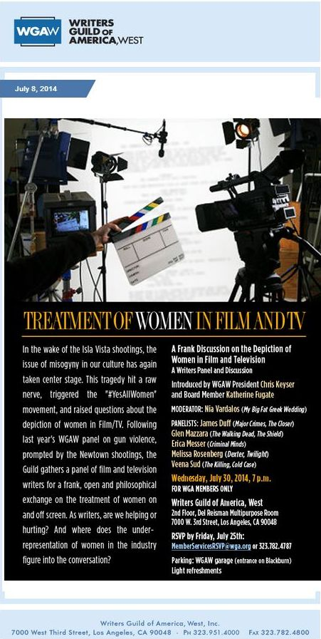 treatment of women in film and tv