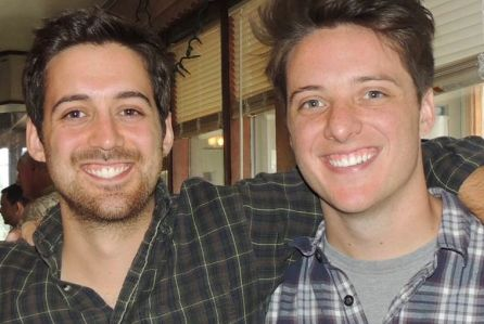 The Shipley brothers, Justin and Jordan (or Jordan and Justin, who can be sure?)
