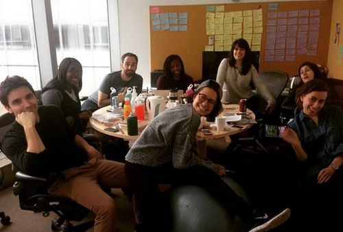 Ooh, it's the BROAD CITY writers room, baby!