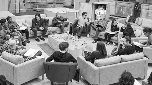 Yeppers, this is SW: EP 7. The table read!