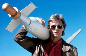 Richard Dean Anderson portrayed MacGyver with the perfect combination of cool andnerdy