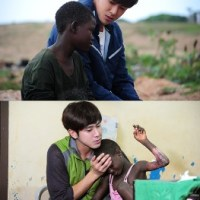 Penggemar Yunho Memberikan Sumbangan Ke Afrika