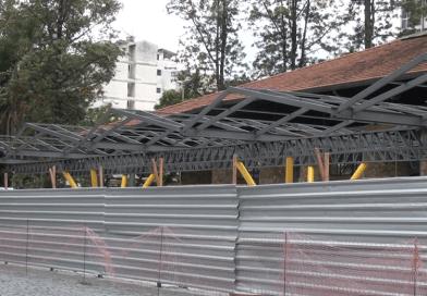 Obras de cobertura da Estação Livre são retomadas