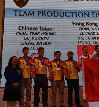 台灣隊伍SR槍隊 奪得香港第一屆IPSC氣槍射擊世界錦標賽亮眼的成績